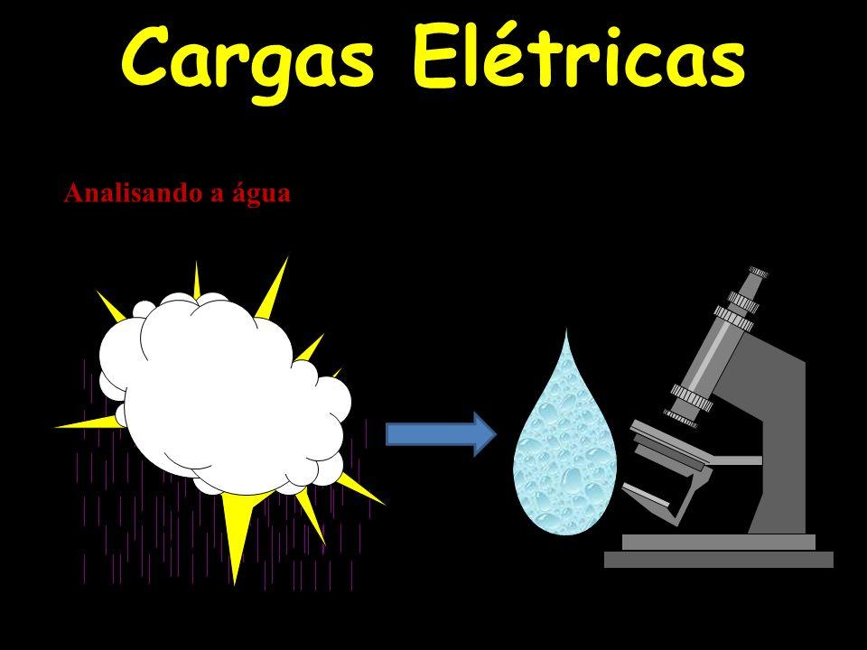Cargas Elétricas Analisando a água