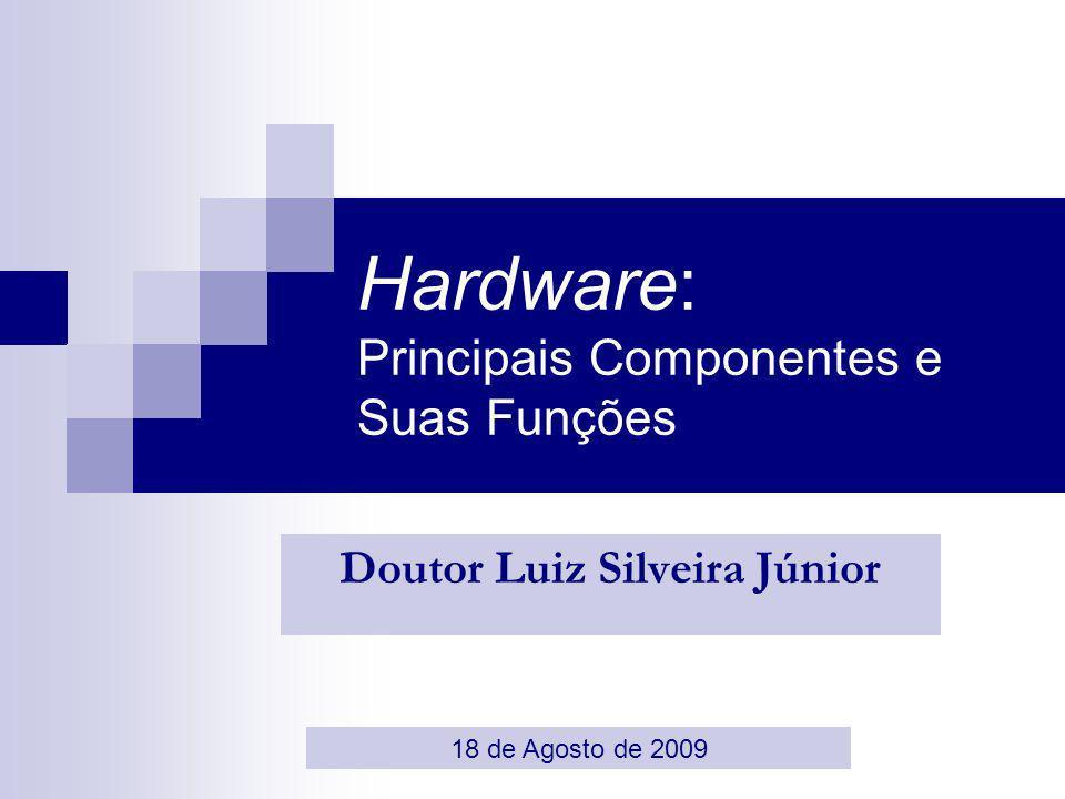 2 Roteiro O Papel do Hardware nos Sistemas Computacionais Definição de Sistemas Computacionais Considerações de Projeto Primeiras tentativas: Surgimento dos Primeiros Computadores Características dos Componentes Modernos Funcionalidades: Os Drivers Requisitos de Desempenho Evolução dos Componentes de Hardware Mudança do Paradigma: Paralelo/Serial Aumento da presença de chipsets dedicados Funcionalidades Complexas & Convergência de Dispositivos Introdução Exemplos de boas práticas Futuro: Componentes de Um Computador Quântico Conclusões