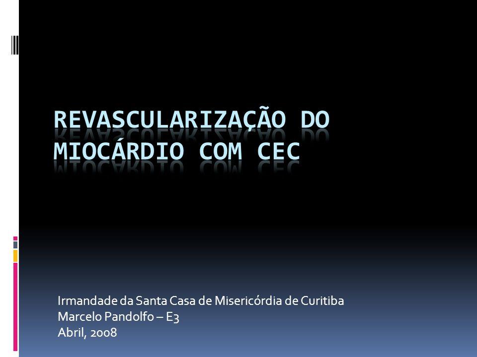 Ponte de VS para DA c/ endarterectomia Ponte de VS para DA com endarterectomia
