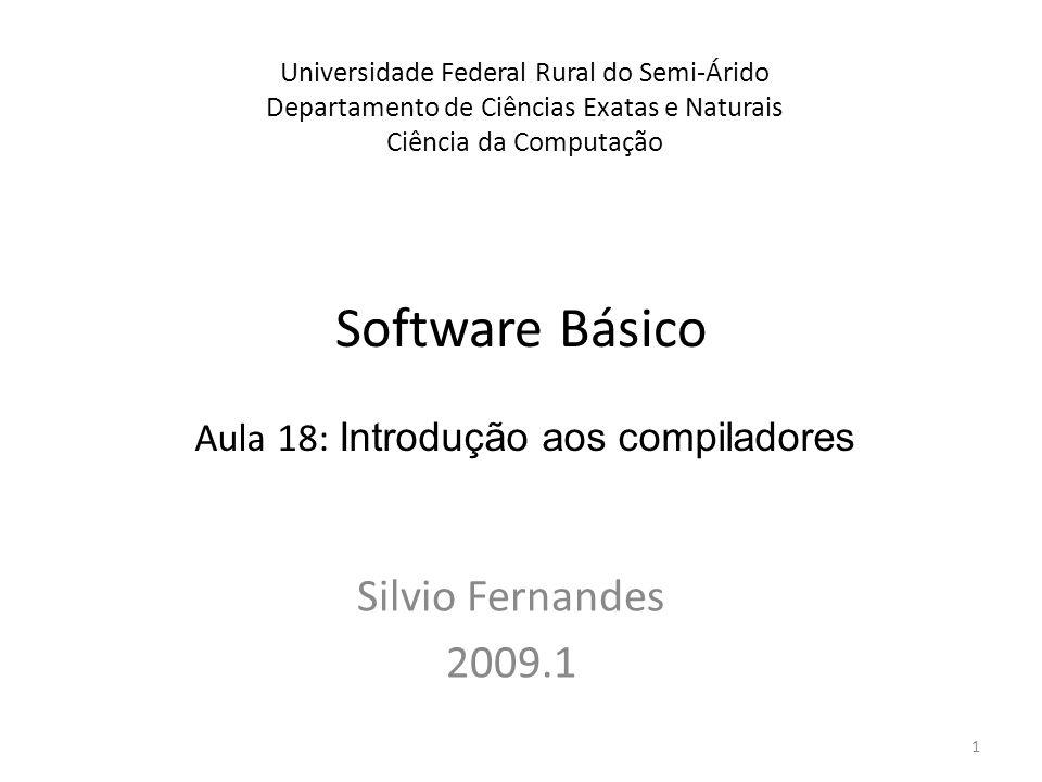 Funções básicas Veremos as operações fundamentais necessárias para a compilação de um programa típico escrito numa linguagem de alto nível Usaremos como exemplo o programa em Pascal a seguir 2