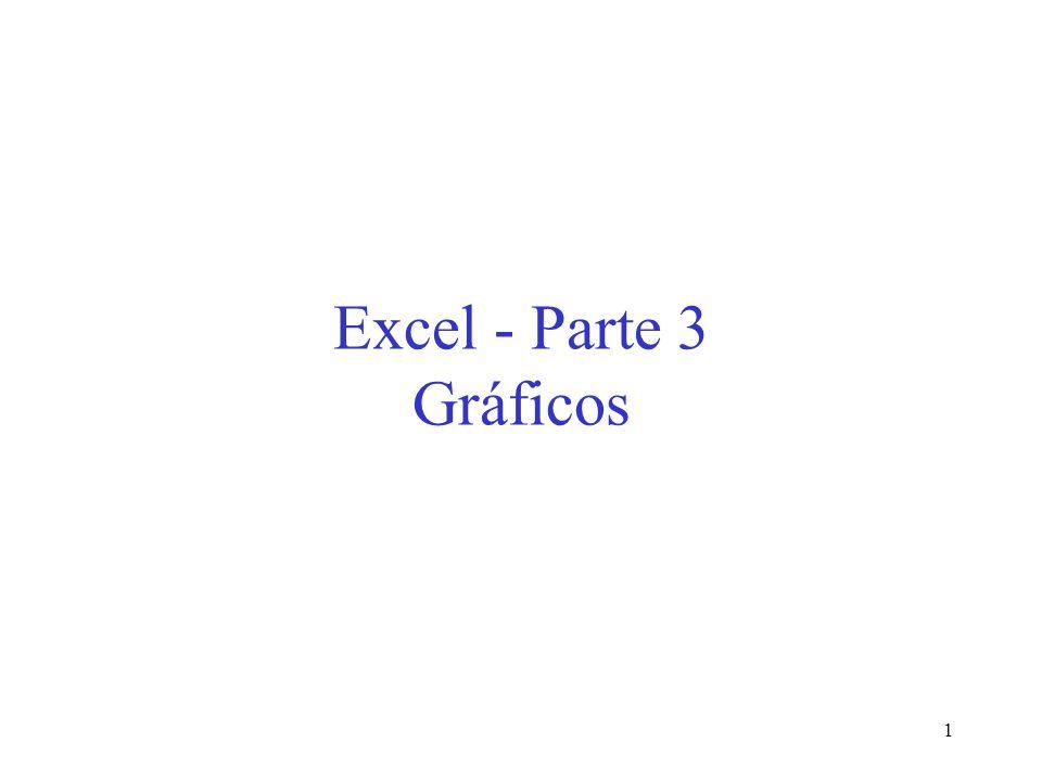 1 Excel - Parte 3 Gráficos