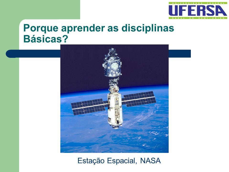 Porque aprender as disciplinas Básicas? Estação Espacial, NASA