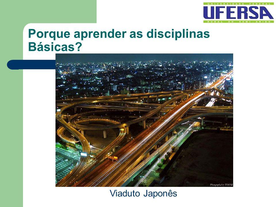 Porque aprender as disciplinas Básicas? Viaduto Japonês