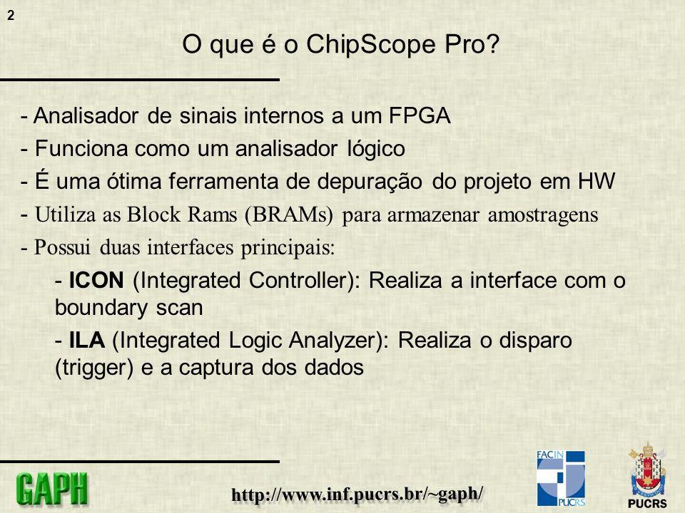2 O que é o ChipScope Pro.