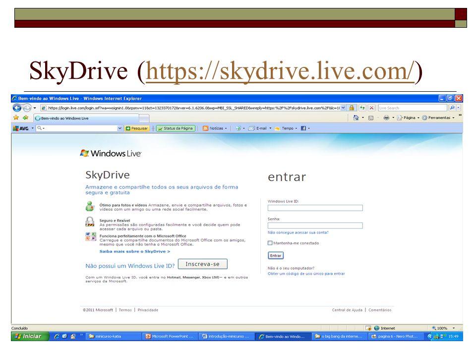 SkyDrive (https://skydrive.live.com/)https://skydrive.live.com/