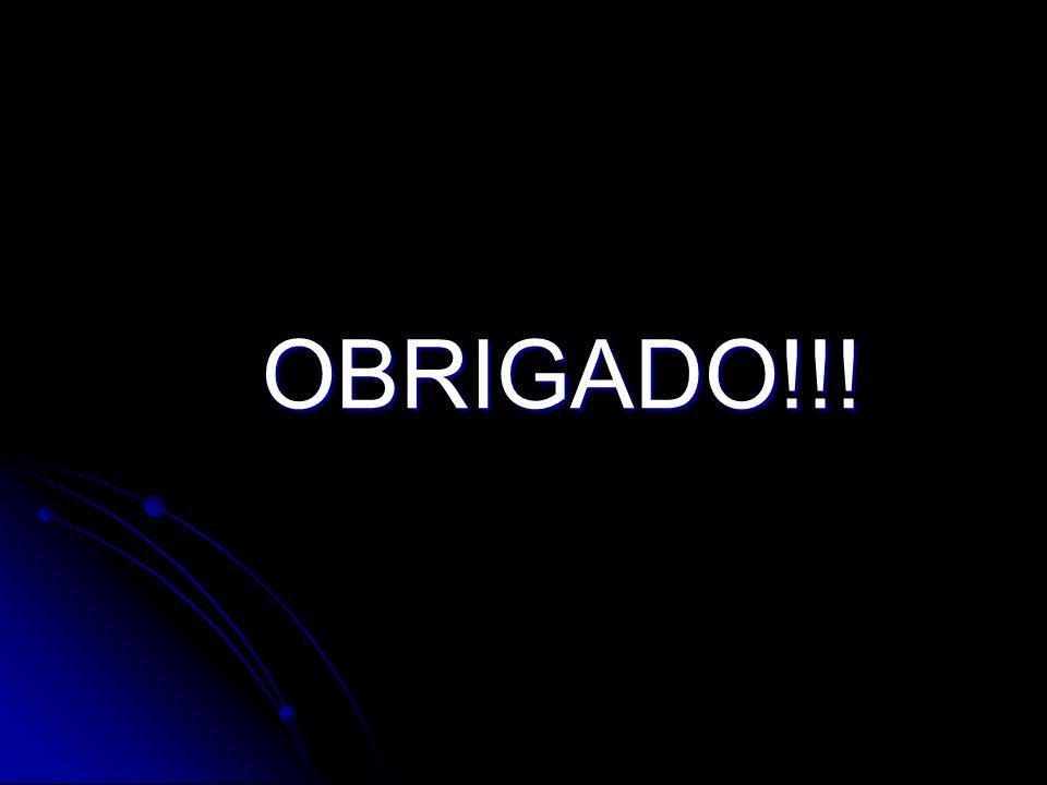OBRIGADO!!! OBRIGADO!!!