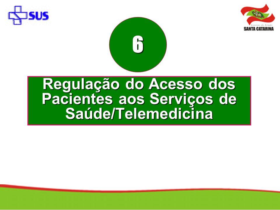 Regulação do Acesso dos Pacientes aos Serviços de Saúde/Telemedicina 6