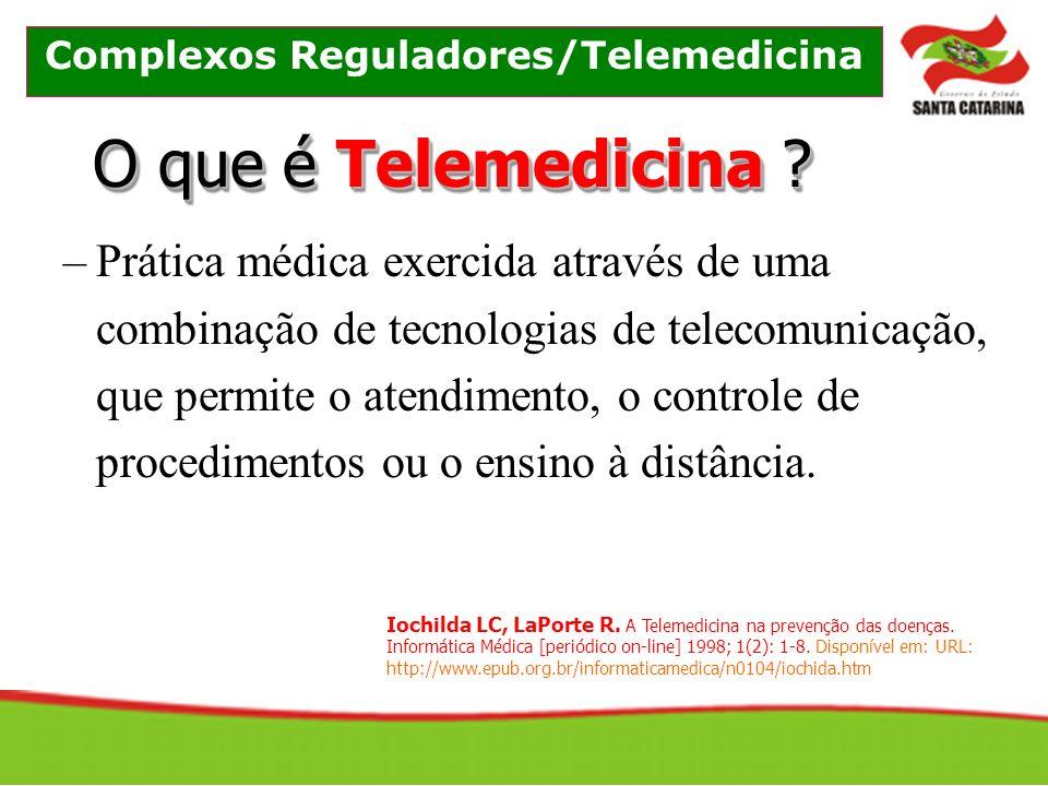 O que é Telemedicina .