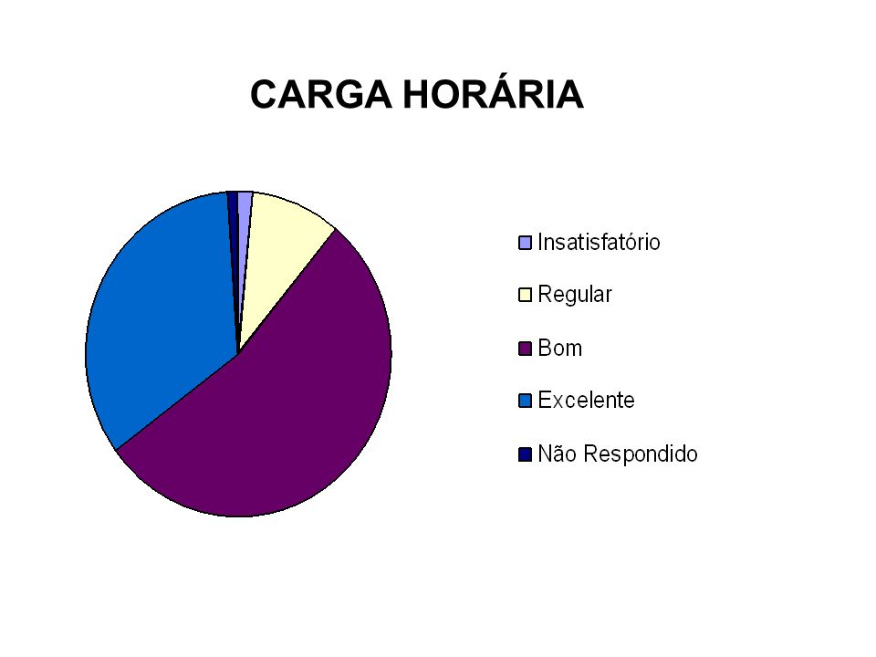 CARGA HORÁRIA