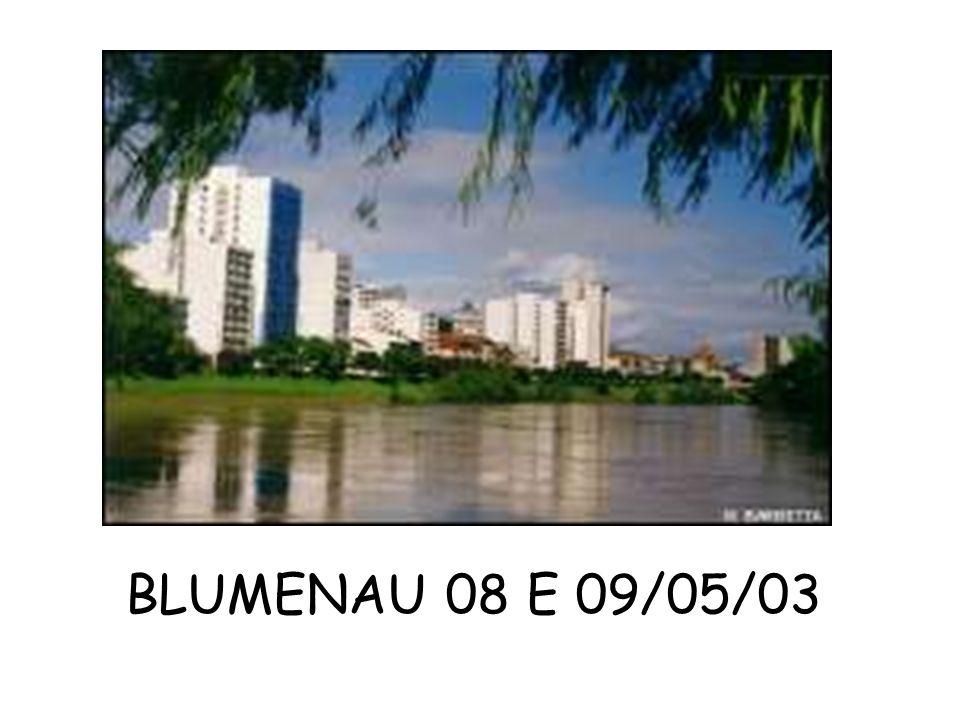 BLUMENAU 08 E 09/05/03