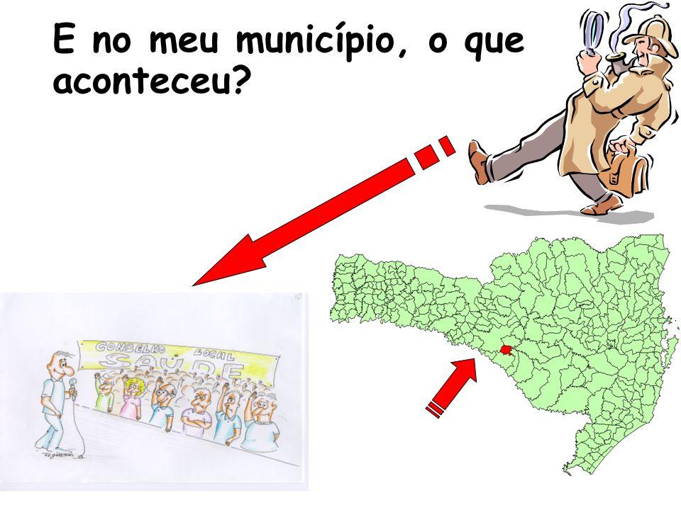 E no meu município, o que aconteceu?