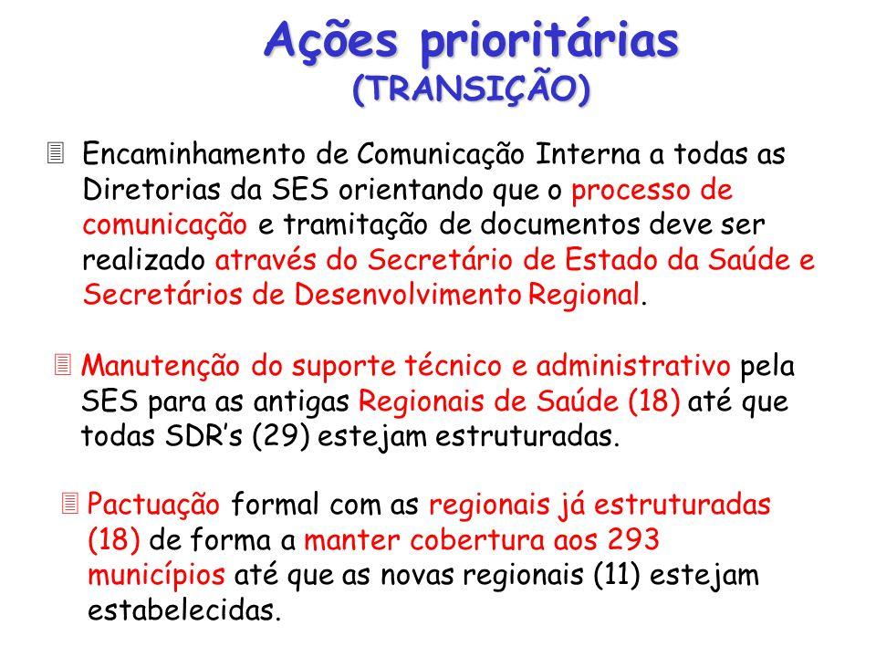 3Encaminhamento de Comunicação Interna a todas as Diretorias da SES orientando que o processo de comunicação e tramitação de documentos deve ser reali