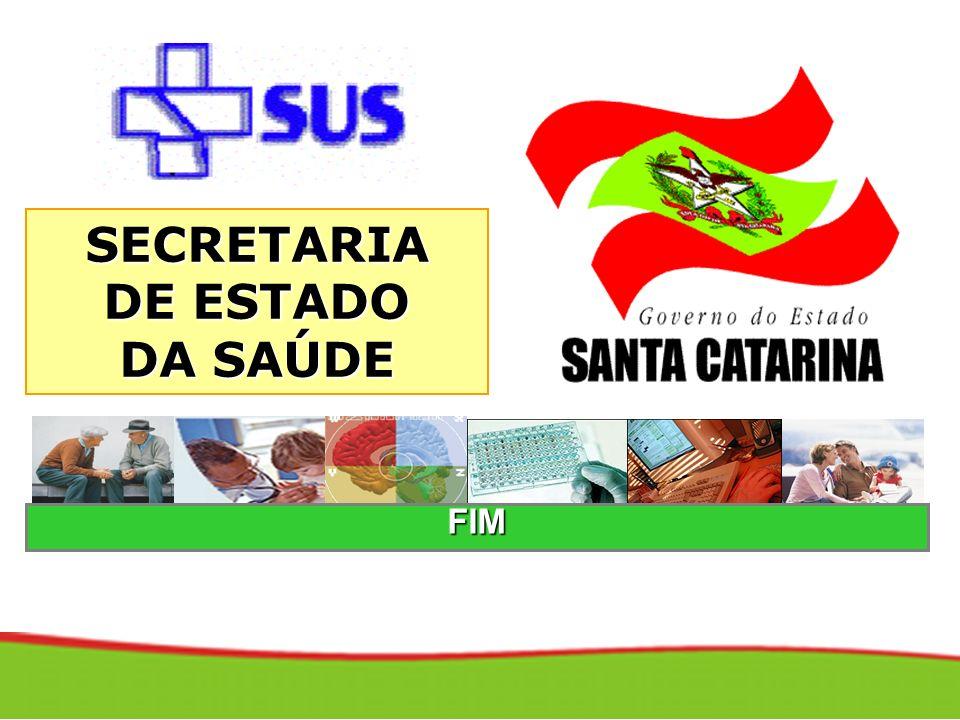 FIM SECRETARIA DE ESTADO DA SAÚDE