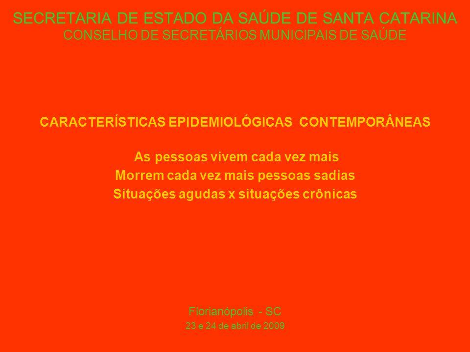 SECRETARIA DE ESTADO DA SAÚDE DE SANTA CATARINA CONSELHO DE SECRETÁRIOS MUNICIPAIS DE SAÚDE ATITUDES DAS INSTITUIÇÕES / EMPRESAS DE SAÚDE SELEÇÃO ADVERSA (provedores em geral, públicos, beneficentes ou privados) Florianópolis - SC 23 e 24 de abril de 2009