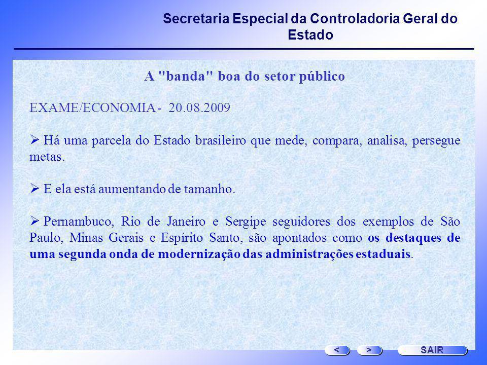 Secretaria Especial da Controladoria Geral do Estado A