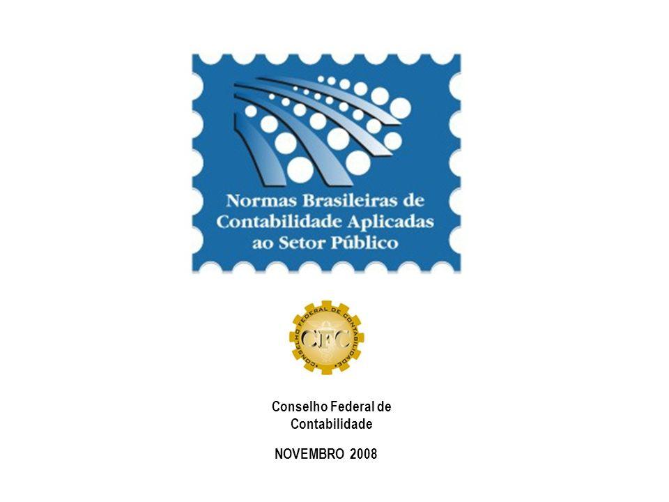 NOVEMBRO 2008 Conselho Federal de Contabilidade