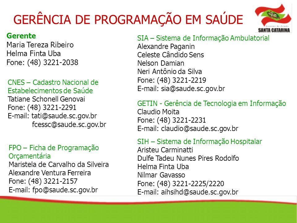 SIH – Sistema de Informação Hospitalar Aristeu Carminatti Dulfe Tadeu Nunes Pires Rodolfo Helma Finta Uba Nilmar Gavasso Fone: (48) 3221-2225/2220 E-m