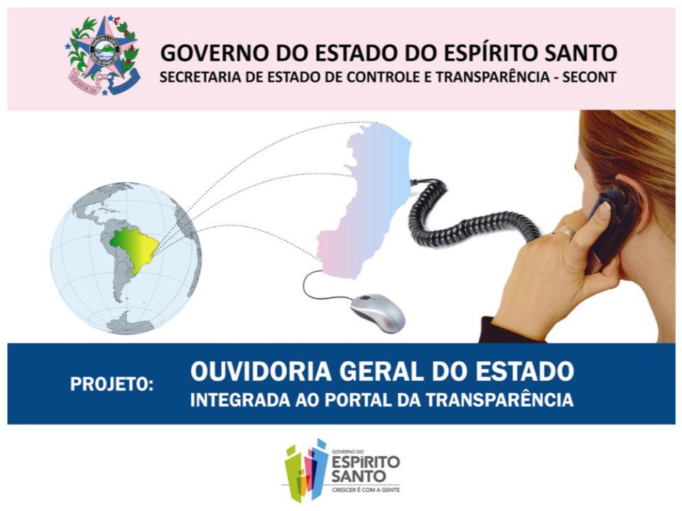 Governo do Estado do Espírito Santo Secretaria de Estado de Controle e Transparência