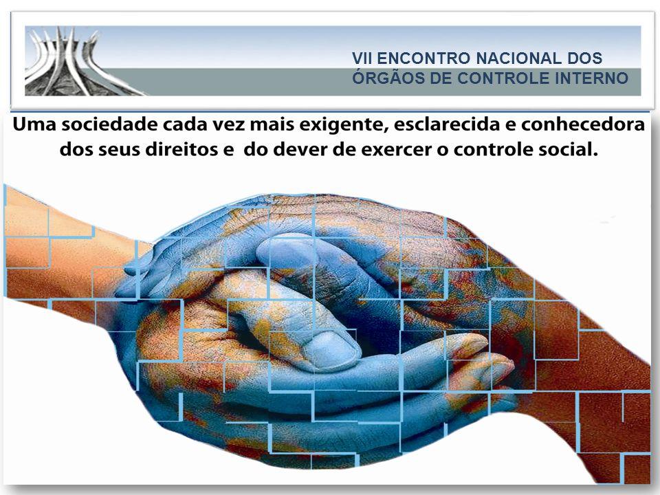 Governo do Estado do Espírito Santo Secretaria de Estado de Controle e Transparência CAPA..... VII ENCONTRO NACIONAL DOS ÓRGÃOS DE CONTROLE INTERNO