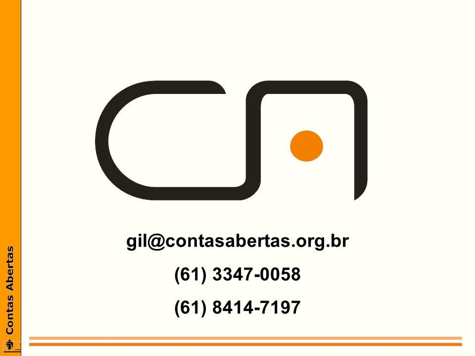 gil@contasabertas.org.br (61) 3347-0058 (61) 8414-7197
