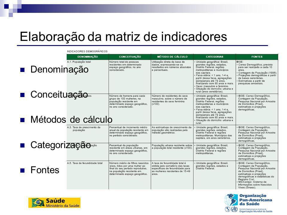 Internet – www.datasus.gov.br/idb