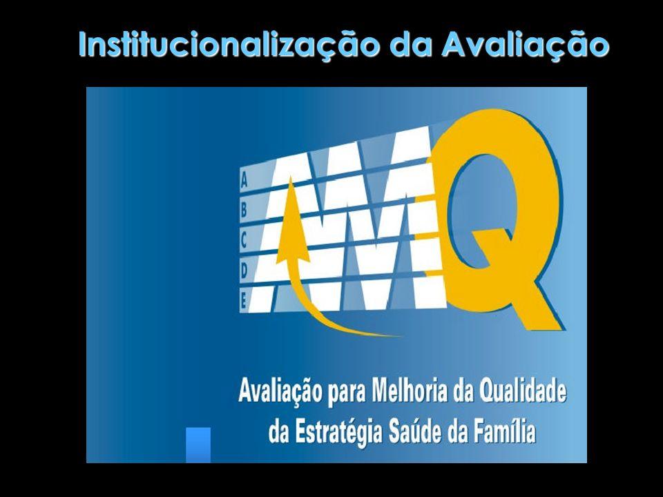 Avaliação em Saúde no Brasil Processos incipientes; Pouco incorporados às práticas dos serviços de saúde; Caráter mais prescritivo, burocrático e punitivo que subsidiário do planejamento e gestão; Não se constituem, ainda, em instrumento de suporte ao processo decisório.