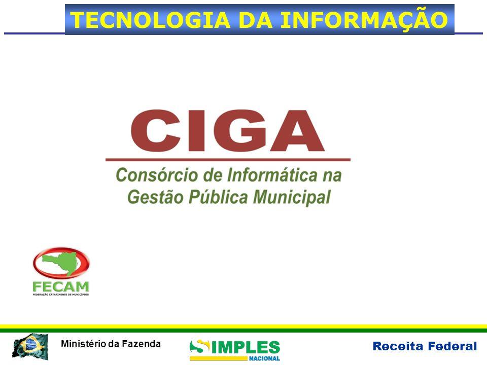 Receita Federal Ministério da Fazenda TECNOLOGIA DA INFORMAÇÃO