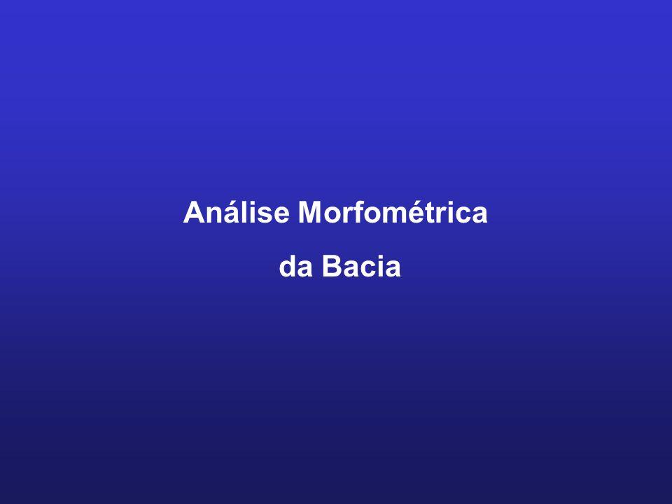 Análise Morfométrica da Bacia