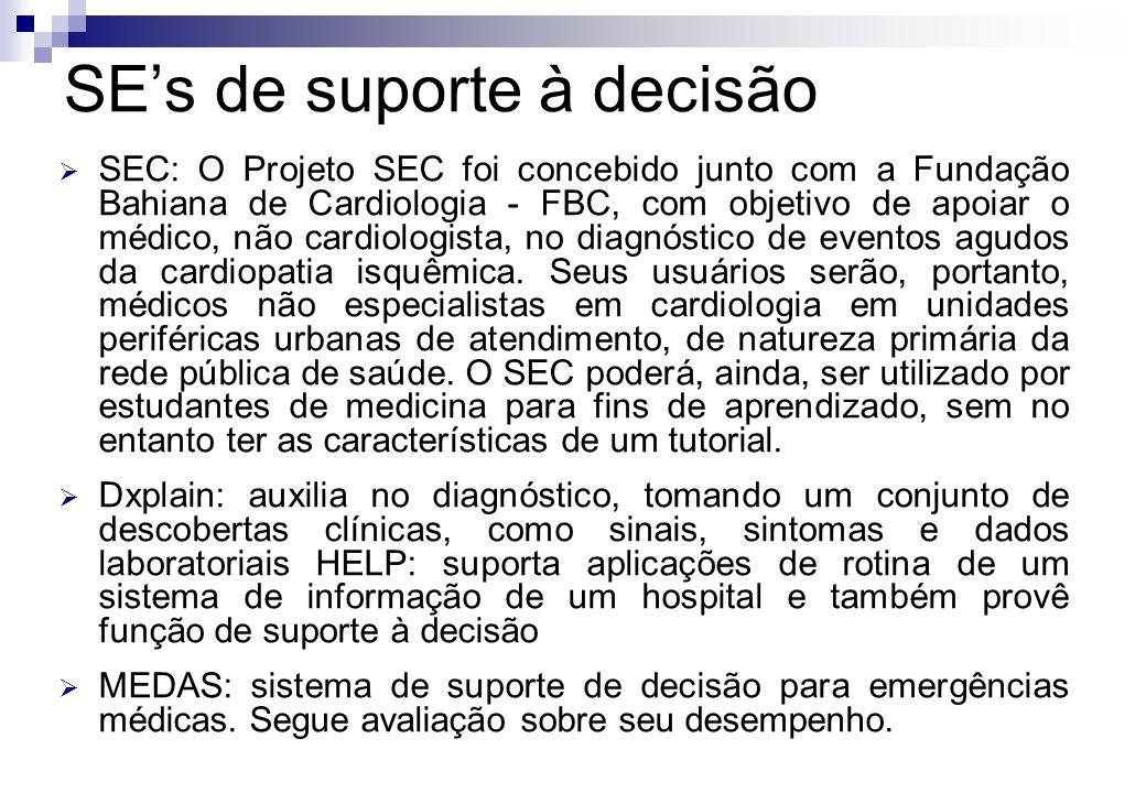 SEC: O Projeto SEC foi concebido junto com a Fundação Bahiana de Cardiologia - FBC, com objetivo de apoiar o médico, não cardiologista, no diagnóstico