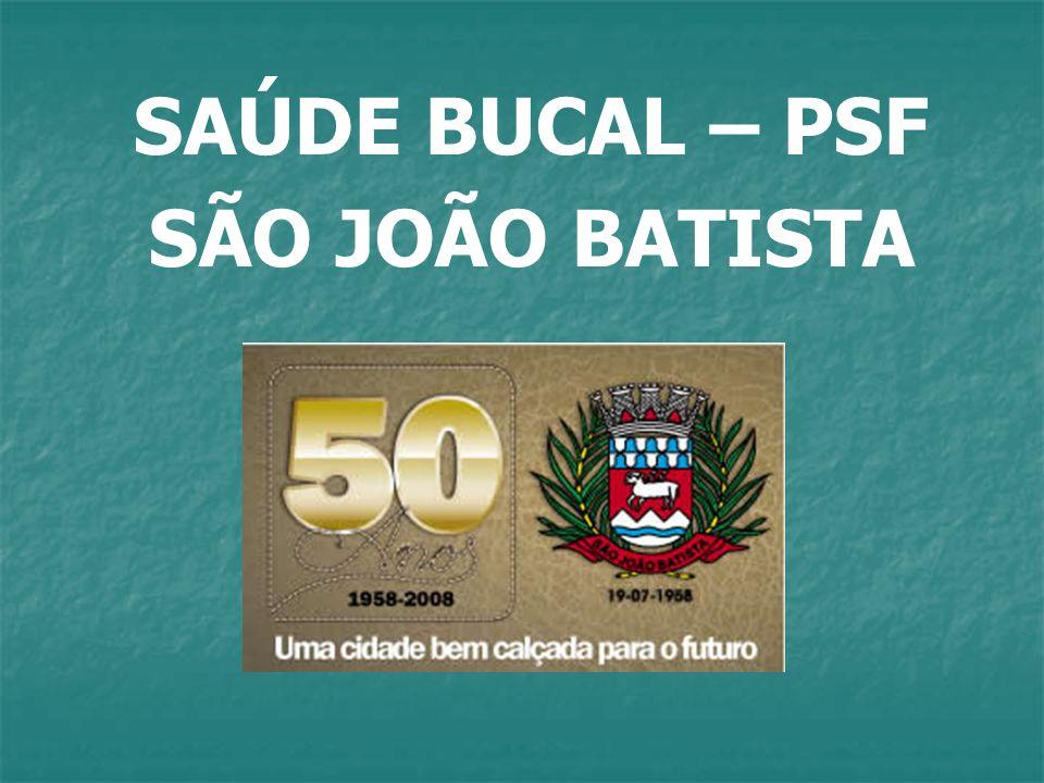 SAÚDE BUCAL – PSF SÃO JOÃO BATISTA