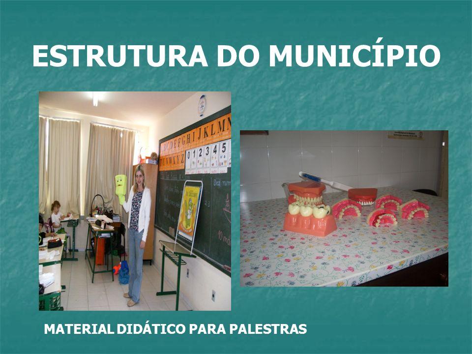 ESTRUTURA DO MUNICÍPIO MATERIAL DIDÁTICO PARA PALESTRAS