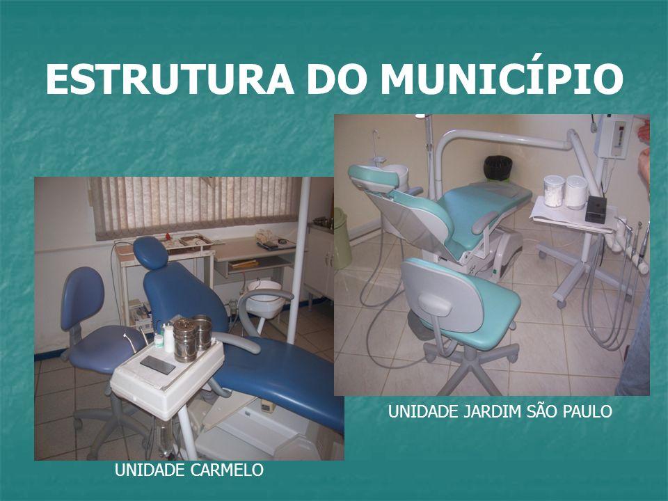 ESTRUTURA DO MUNICÍPIO UNIDADE CARMELO UNIDADE JARDIM SÃO PAULO