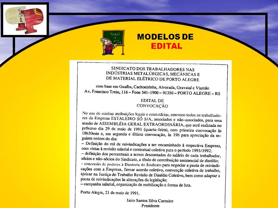 MODELOS DE EDITAL