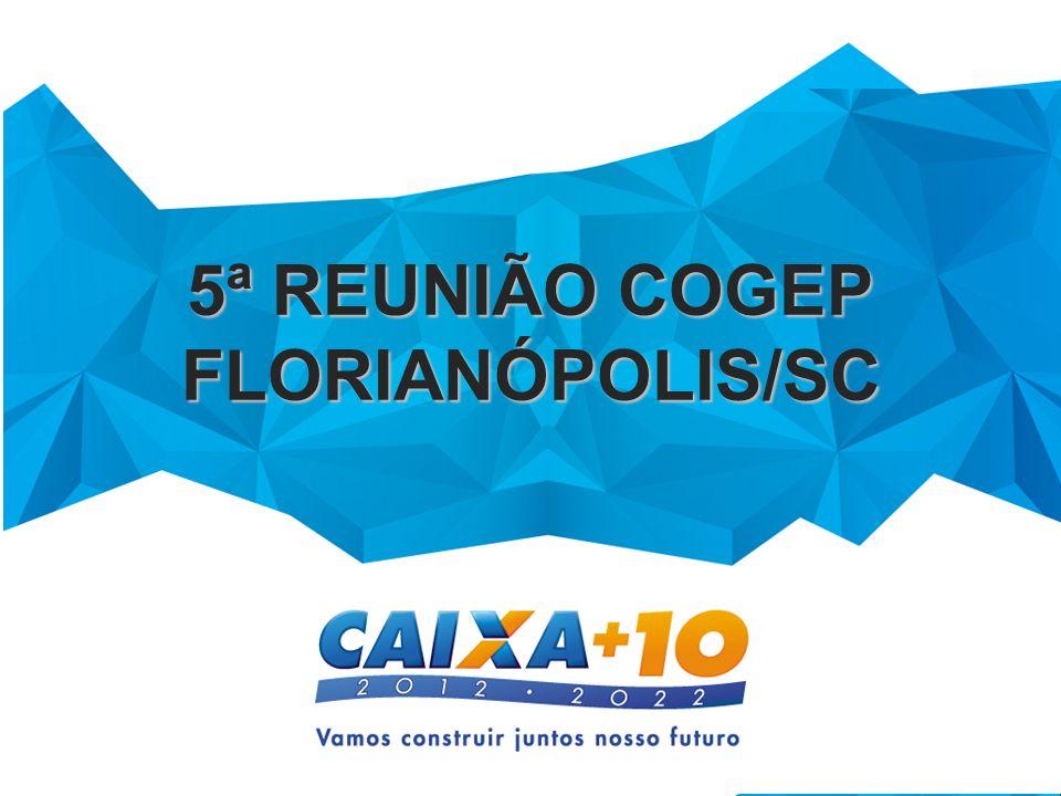 5ª REUNIÃO COGEP FLORIANÓPOLIS/SC