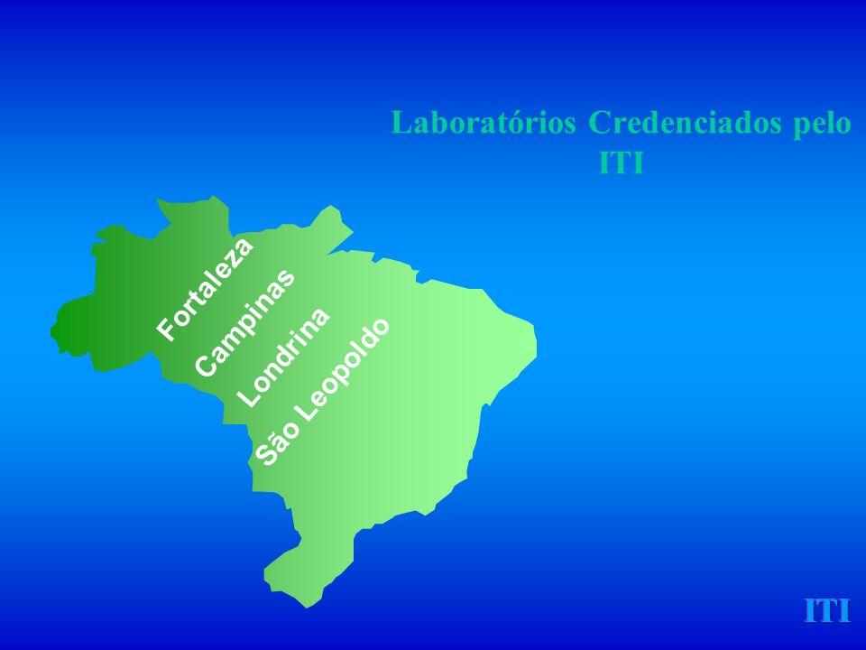 ITI Laboratórios Credenciados pelo ITI Fortaleza Campinas Londrina São Leopoldo