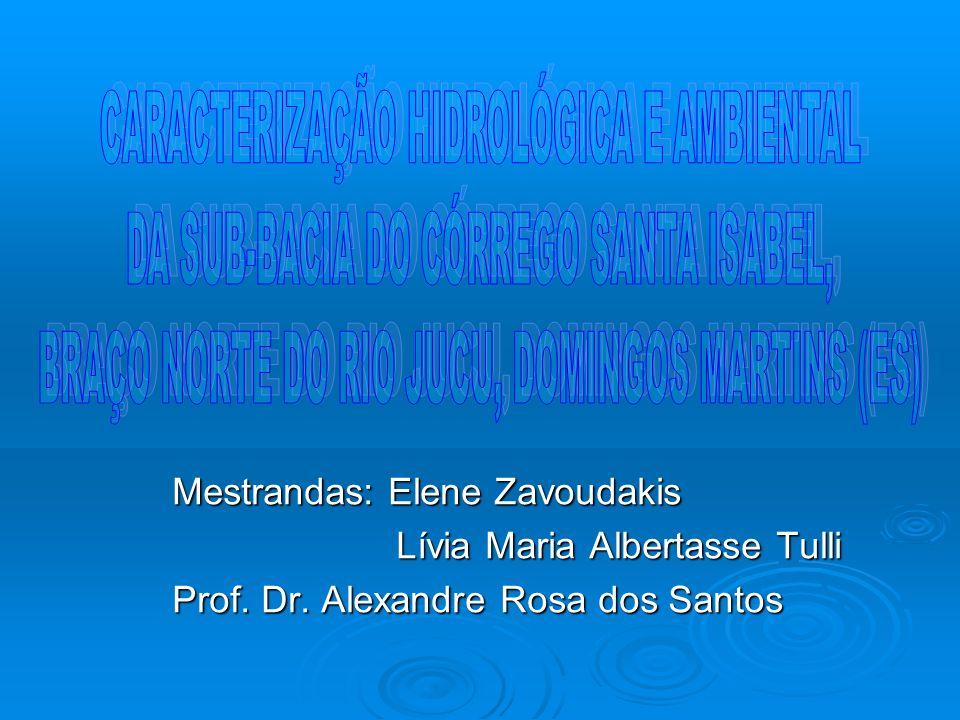 Mestrandas: Elene Zavoudakis Lívia Maria Albertasse Tulli Lívia Maria Albertasse Tulli Prof.