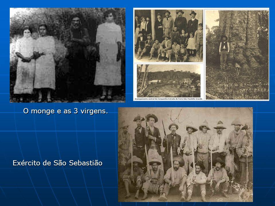 Exército de São Sebastião O monge e as 3 virgens.