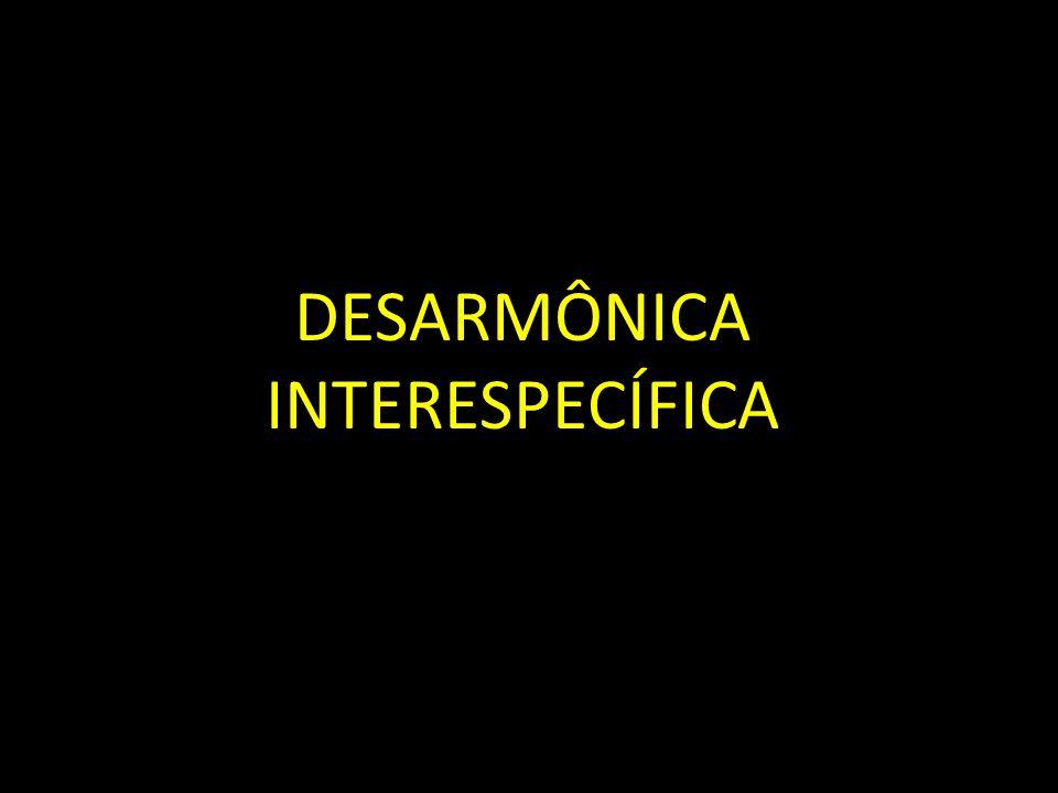 DESARMÔNICA INTERESPECÍFICA