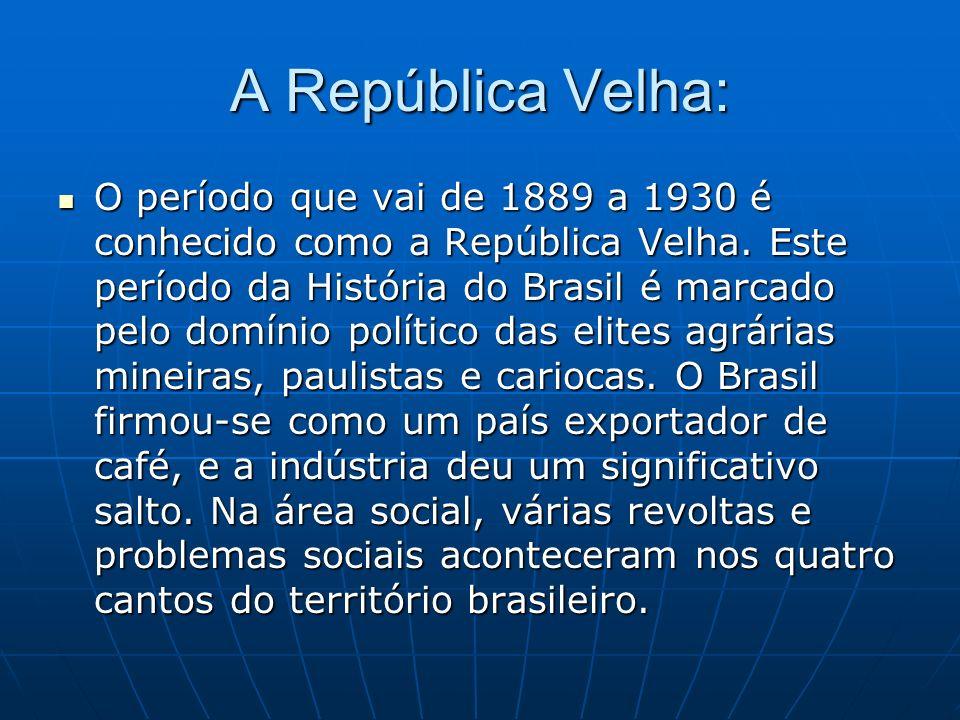 O então ministro da Fazenda, Ruy Barbosa, declarou uma reforma financeira.