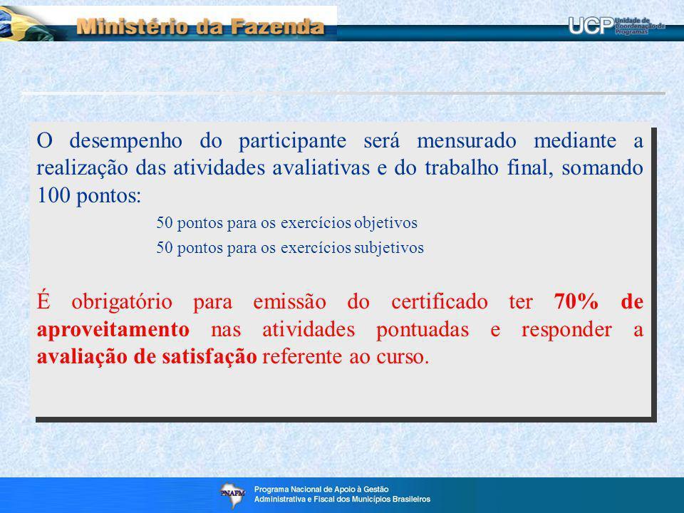 Enviar nome completo, sem abreviação CPF Email para a caixa postal da UCP ucp.df@fazenda.gov.br INSCRIÇÃO: