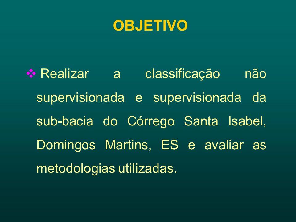 Figura 2. Pontos coletados na sub-bacia do Córrego Santa Isabel, Domingos Martins, ES.