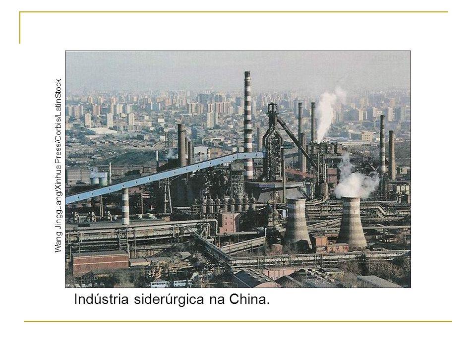 Indústria siderúrgica na China. Wang Jingguang/Xinhua Press/Corbis/LatinStock