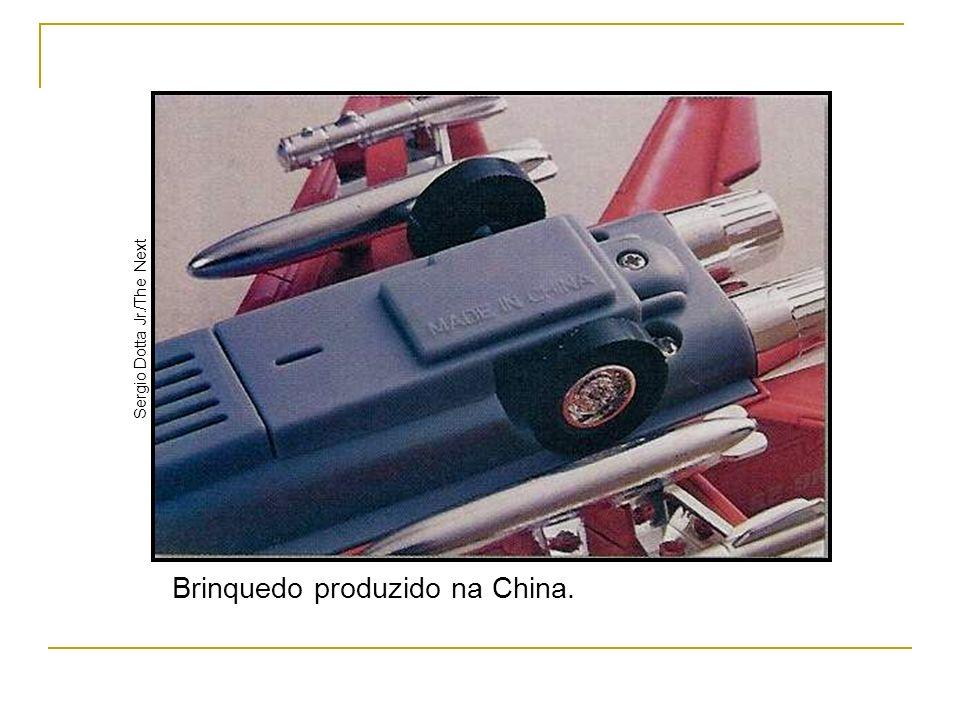 Brinquedo produzido na China. Sergio Dotta Jr./The Next