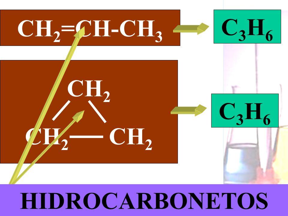 Prof. Sidnei CH 2 =CH-CH 3 C 3 H 6 CH 2 C 3 H 6 HIDROCARBONETOS