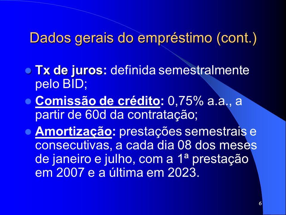 17 Resultados Alcançados (cont.) Componente Fiscalização e Controle: – Elevação do índice de uso de matrizes em auditorias de conformidade, de 48% (2003) para 98% (2005), relativamente a matriz de procedimentos, de 48% para 78%, relativamente à matriz de achados, e de 37% para 73% relativamente à matriz de responsabilização; – Pontuação obtida no critério Gestão de Processos do Programa de Qualidade do TCU na auto-avaliação da gestão, de 40% (2003) para 56% (2005).