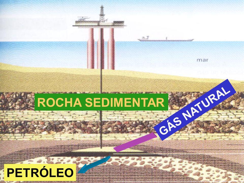 Prof. Sidnei ROCHA SEDIMENTAR PETRÓLEO GÁS NATURAL