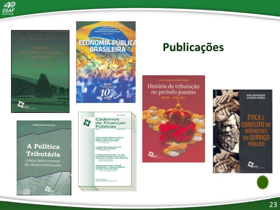 23 Publicações 23