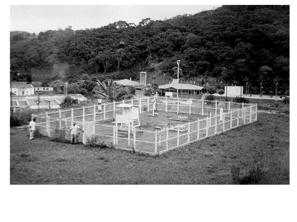 Estação meteorológica principal de Viçosa-MG (Vista parcial).