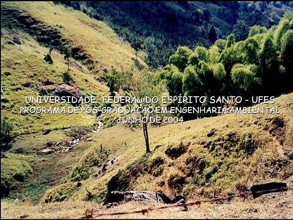 UNIVERSIDADE FEDERAL DO ESPÍRITO SANTO - UFES PROGRAMA DE PÓS-GRADUAÇÃO EM ENGENHARIA AMBIENTAL JUNHO DE 2004