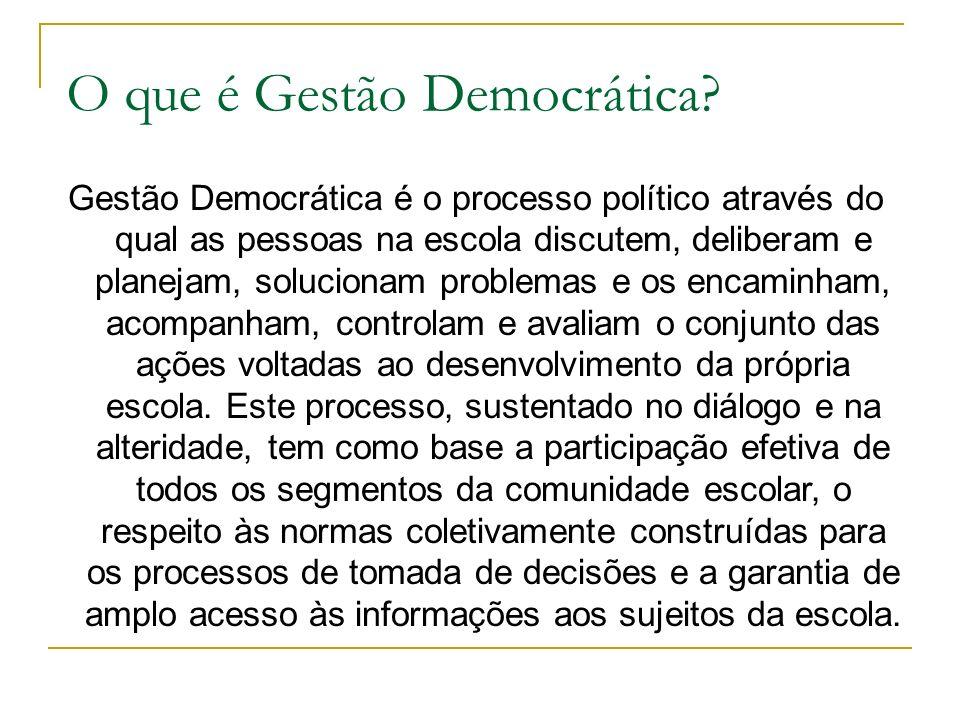 Gestão Democrática Disciplina Prática Pedagógica Profº Maurício Cruz